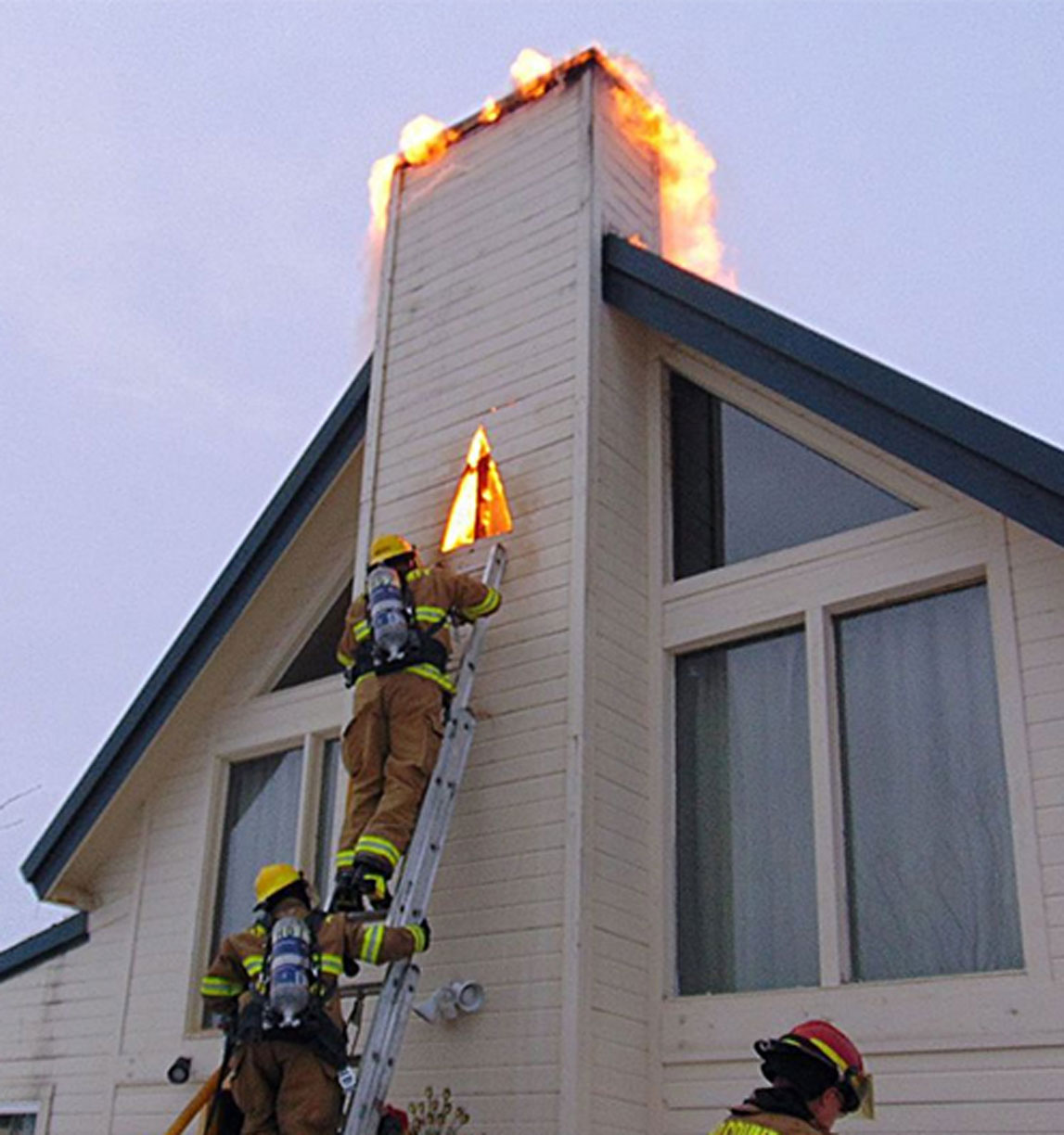 Safety Tips Clean Your Chimney Truro Township Fire Department